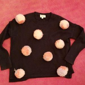 Fun rare pom pom sweater